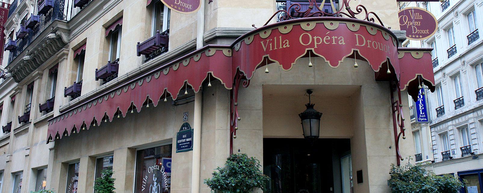 Hotel Villa Opera Drouot Paris
