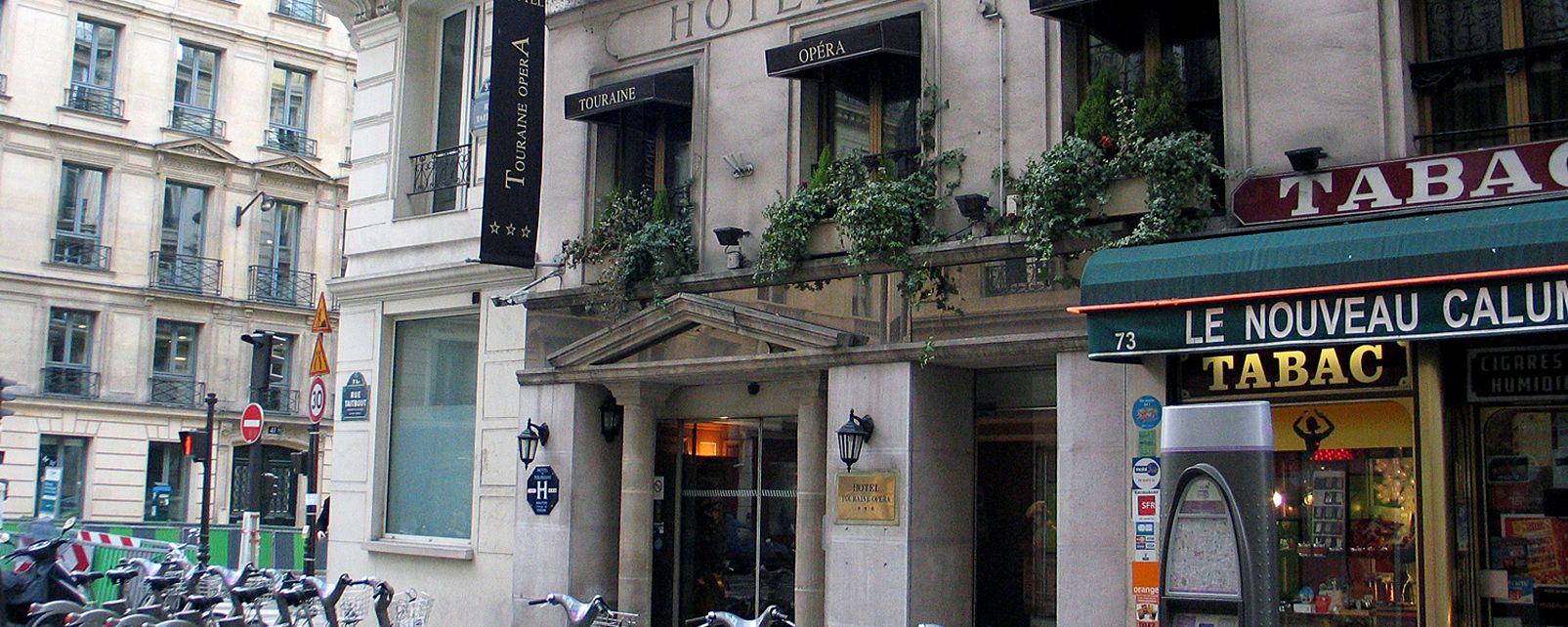 Hotel Touraine Opera Hotel Paris