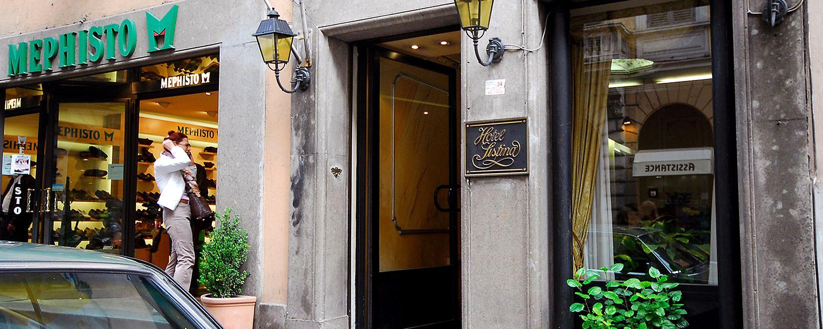 Hotel Sistina Hotel Rome