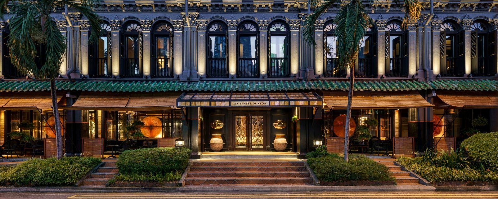 Hôtel Six Senses Singapour