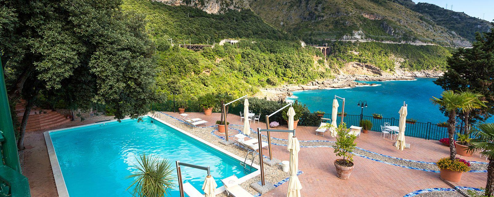 Hotel Villa Del Mare Maratea Foto