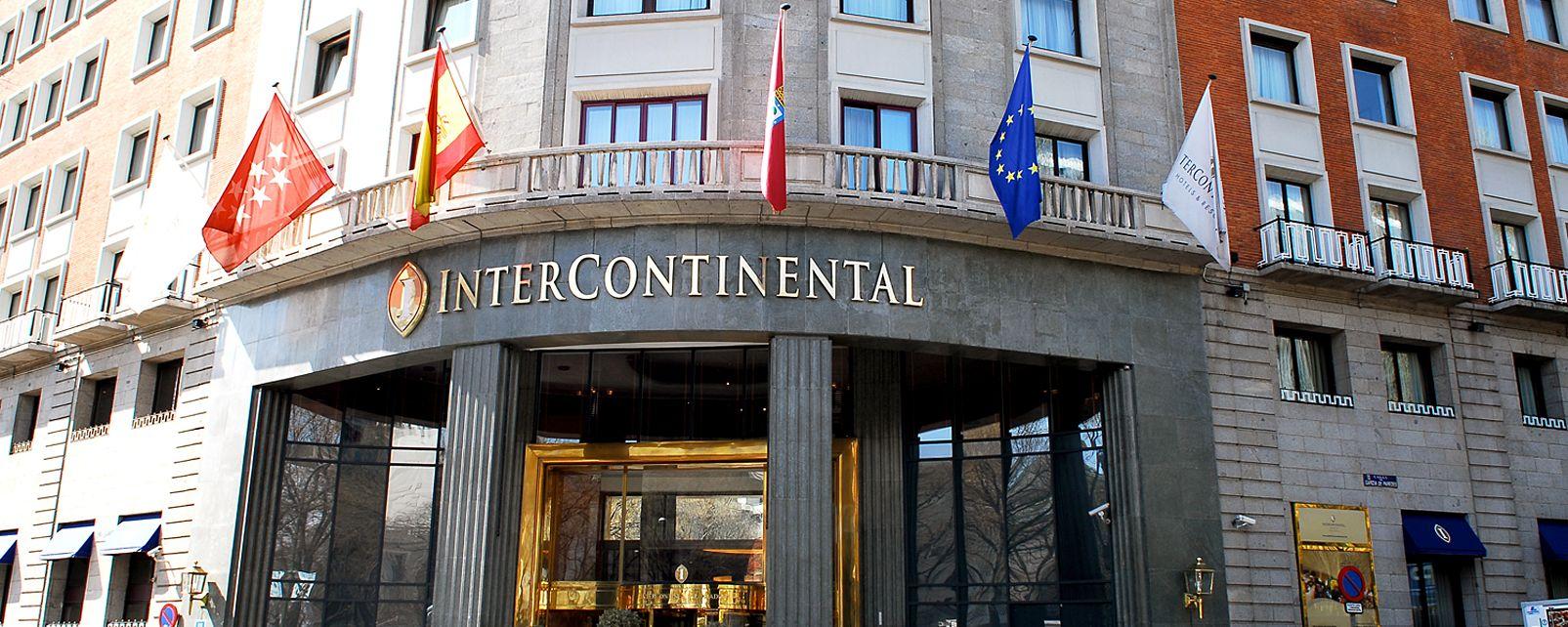 Hotel castellana intercontinental madrid - Hoteles de diseno en espana ...