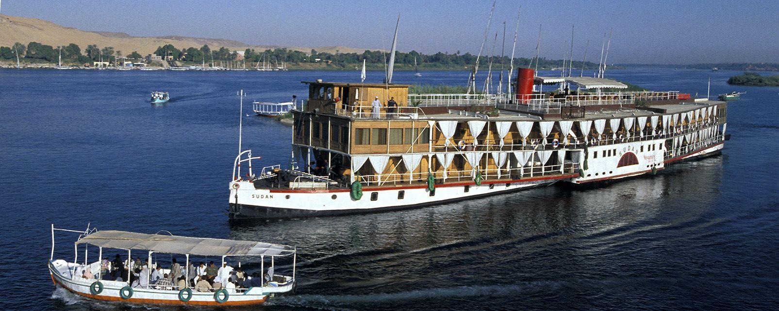 Hotel Bateau Steam Ship Sudan