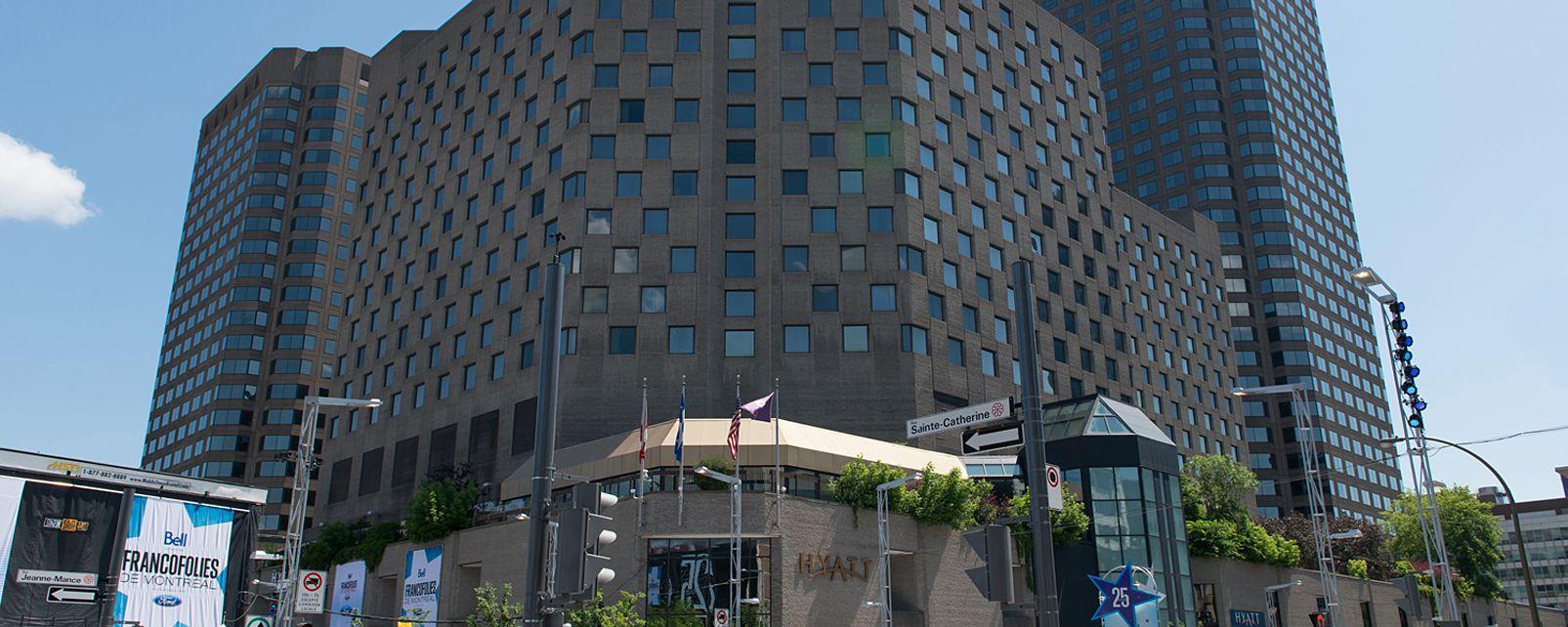 Hotel Hyatt Regency Hotel Montreal