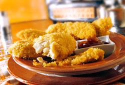 Les nuggets de poulet maison