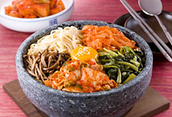 Le bibimbap coréen