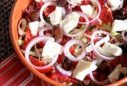 La salade grecque facile