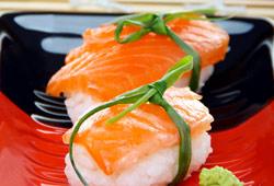 Les véritables sushis