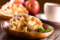 Le strudel aux pommes