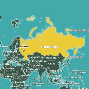 Karte Russland