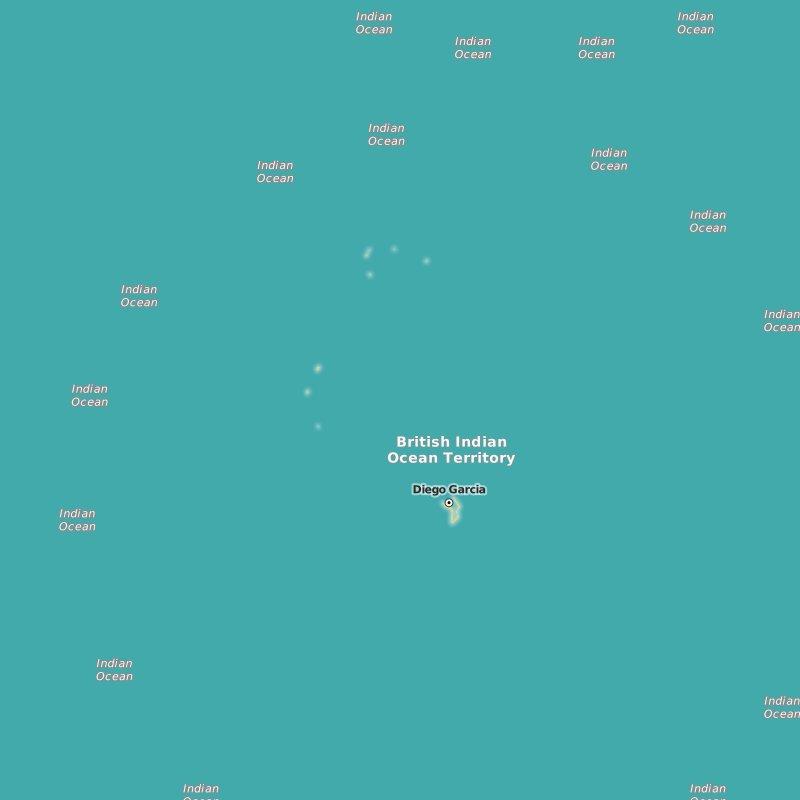 map British Indian Ocean Territory
