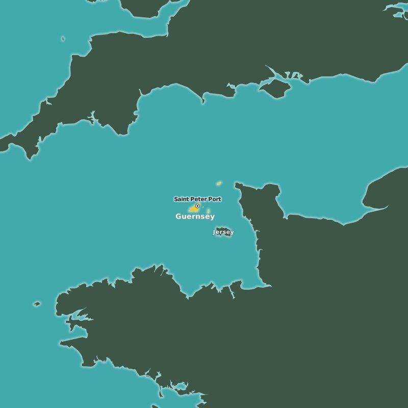 map Guernsey