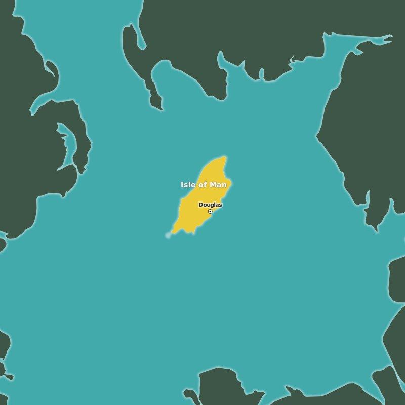 map Isle of Man