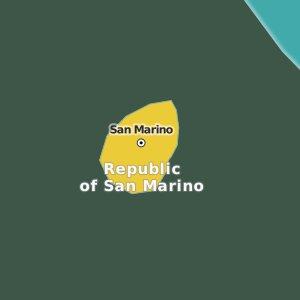 map Republic of San Marino
