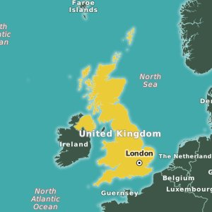 map United Kingdom