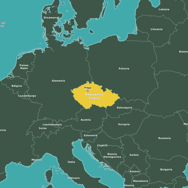 Donde se encuentra praga mapa for Marmol donde se encuentra