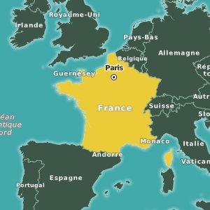 Guide de voyage de la france easyvoyage for Carte des formule 1 hotel en france