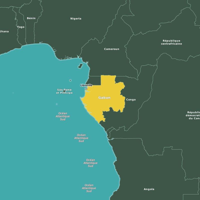Newbuild Vessels Sl Gabon And Sl Libreville At Port Gentil