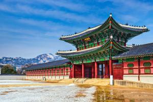 Asie, Corée du Sud, Séoul, Gyeongbokgung, palais,