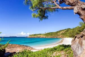 Afrique, Océan Indien, Madagascar, Tsarabanjina, plage, baignade,