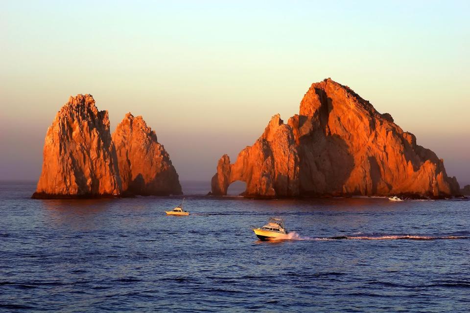 Amérique, Amérique du Nord, Mexique, Los Cabos, Cabo, San Lucas, mer, bateau,