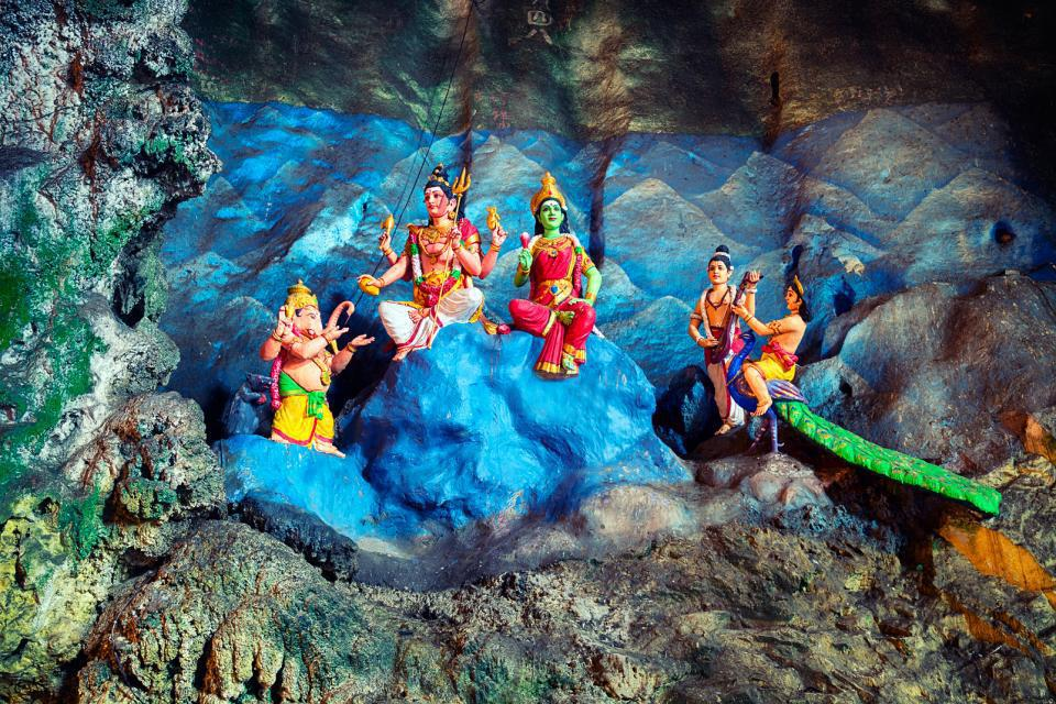 Asie, Malaisie, Kuala Lumpur, grotte, Batu, statue, religion,