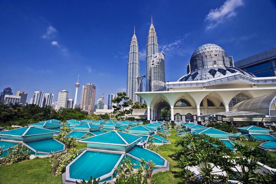 Asie, Malaisie, Kuala Lumpur, tour, Petronas, ville,