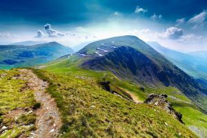 Europe, Roumanie, Parang, montagne, sentier, rocher, Transalpina, Urdele