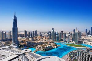 Moyen-Orient, Emirats Arabes Unis, Dubaï, Downtown Dubai, gratte-ciel, ville,