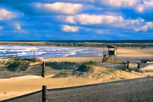 Amérique, Amérique du Sud, Uruguay, Cabo Polonio, plage, baignade,