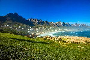 Afrique, Afrique du Sud, Cape Town, Cap, plage, ville, mer, montagne,