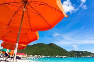 Caraïbes, Saint-Martin, Philipsburg, plage, baignade, détente,