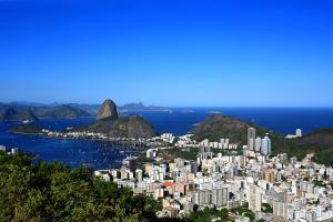Amérique, Amérique du Sud, Brésil, Botafogo, Rio de Janeiro, Pain de Sucre,
