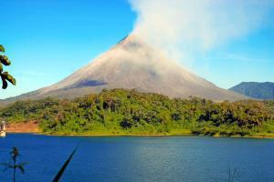 Amérique, Amérique du Sud, Costa Rica, volcan, Arenal,