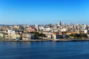 Caraïbes, Cuba, La Havane, Havane, forteresse, Morro, ville,