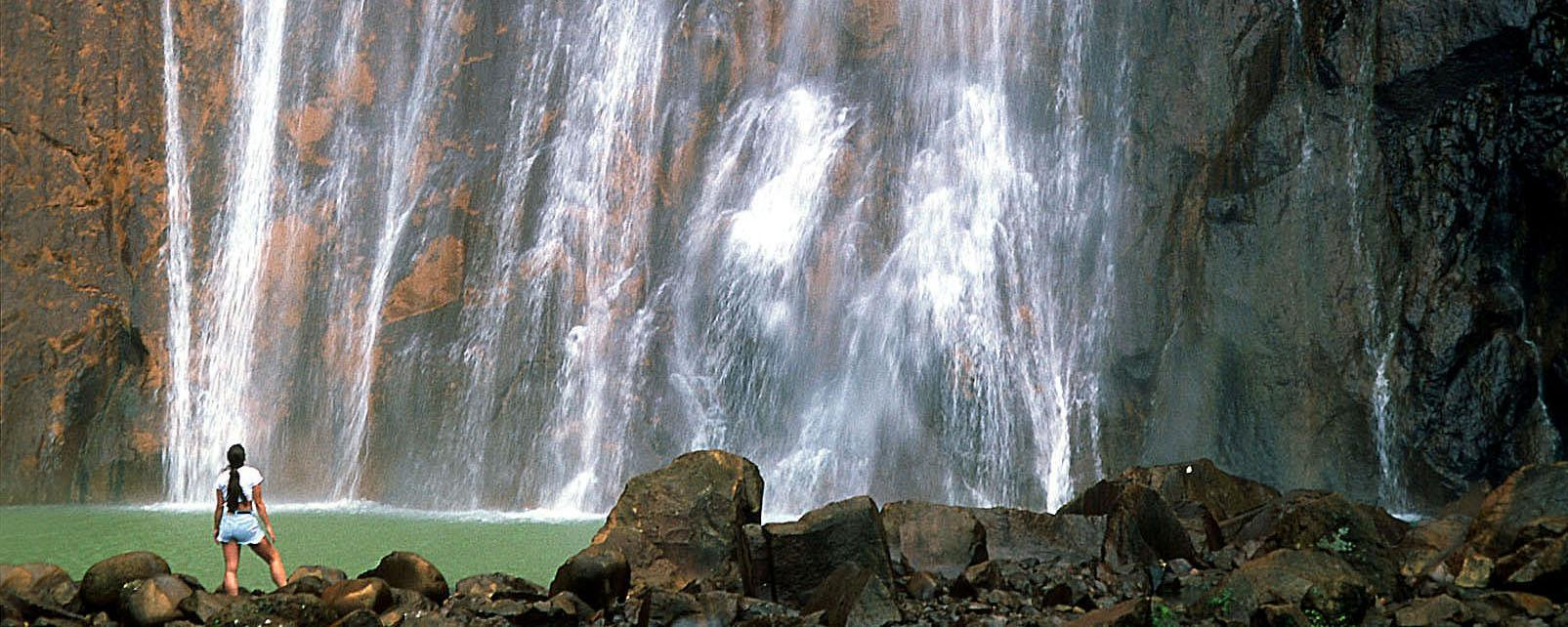 Caraïbes, Guadeloupe, chute, Carbet, cascade,