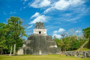 Amérique, Amérique du Sud, Guatemala, Tikal, ruine, maya,