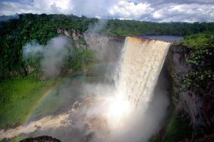 Amérique, Amérique du Sud, Guyana, cascade, Kaieteur,