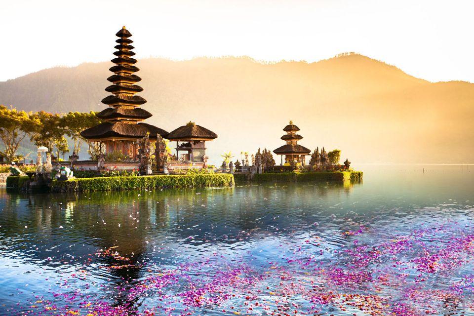 Ulun, Danu, Bratan, lac, indonesie, asie, bali, temple