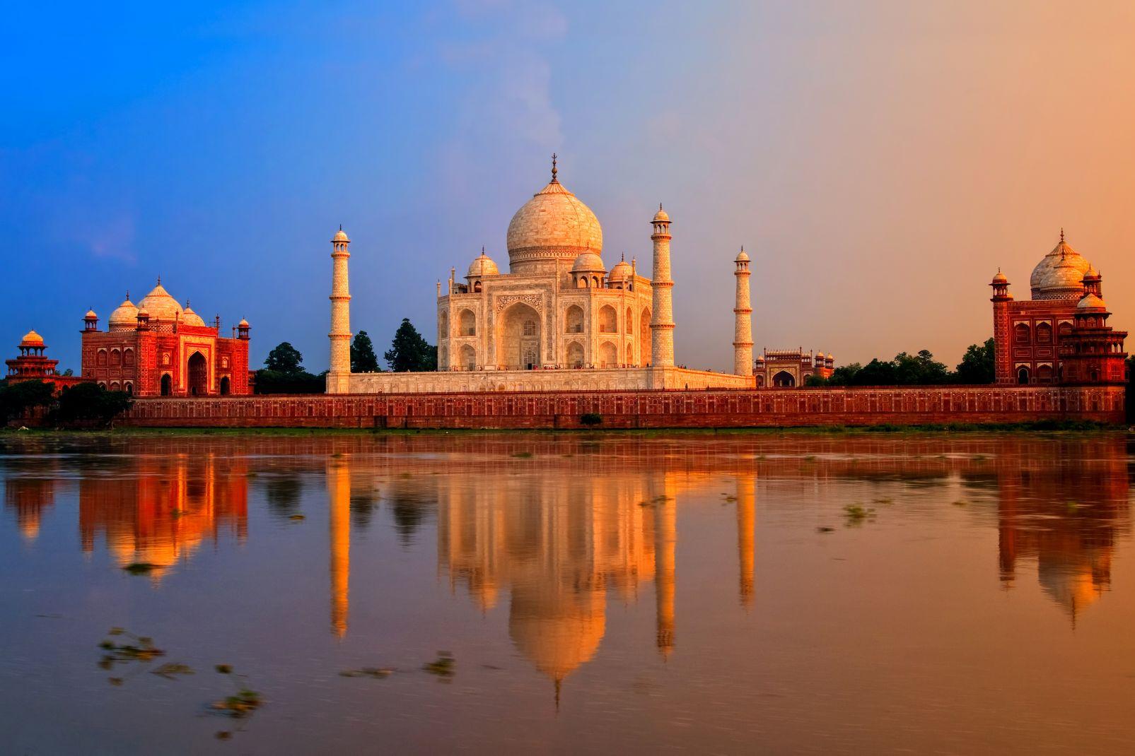 inde, asie, taj mahal, mausolée, palais, agra, Uttar Pradesh