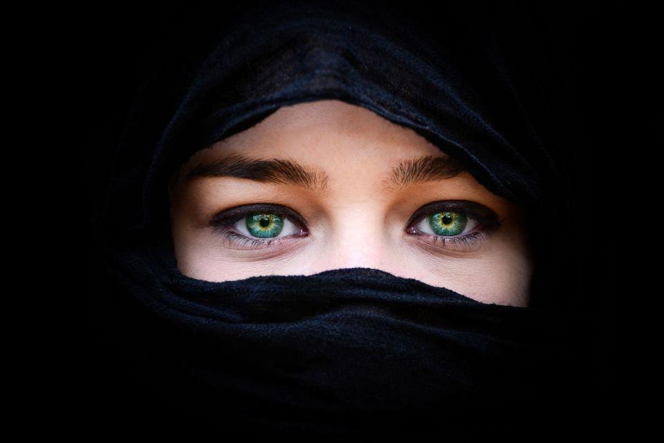 Irak, Irakienne en niqab