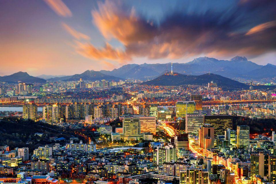 centre, seoul, ville, coree, sud, asie