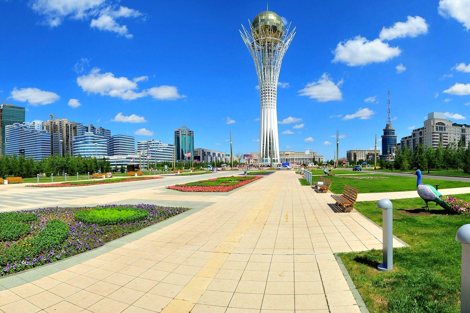 Kazakhstan, Le Bayterek, Astana