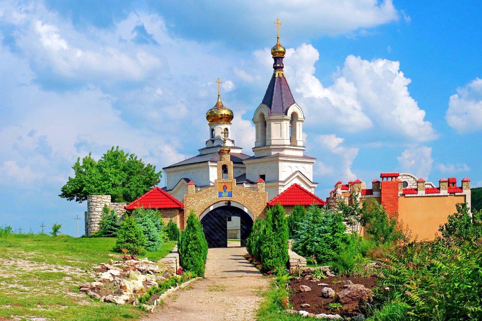 Moldavie, Église chrétienne orthodoxe dans le Vieux Orhei