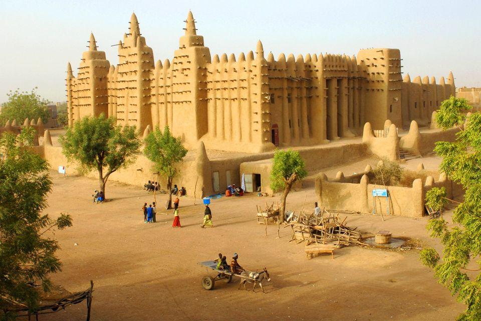 afrique, mali, mosquée, djenné
