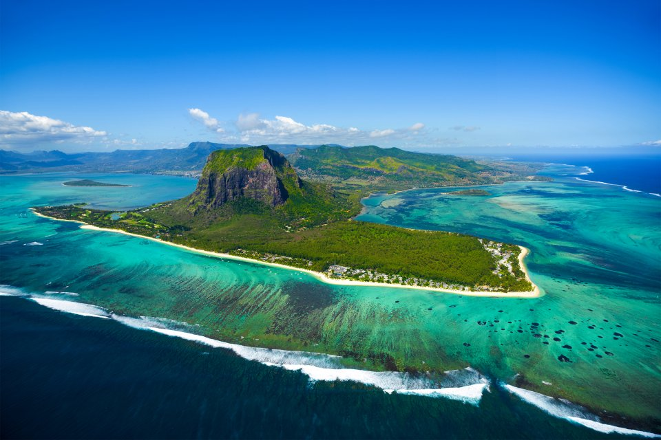 afrique, ile maurice, ocean indien, chute, cascade, maurice, morne brabant