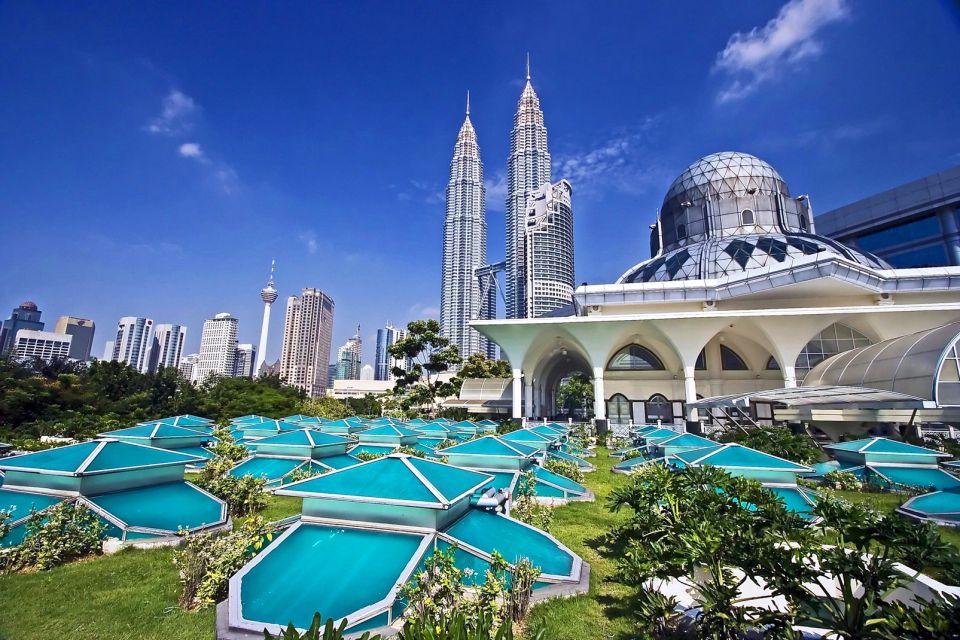 Malaisie, Tours jumelles de Petronas à Kuala Lumpur