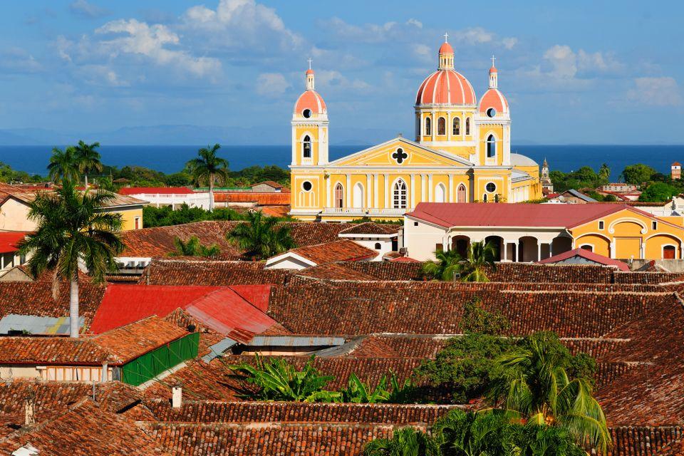 Amérique, Sud, Nicaguara, Grenade, centre historique, église, architecture