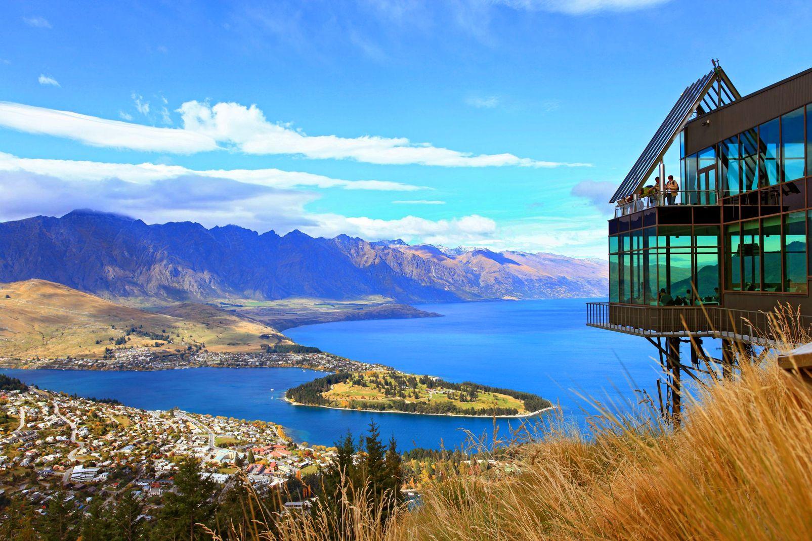 Nouvelle-Zélande, Le lac Wakatipu, Queenstown