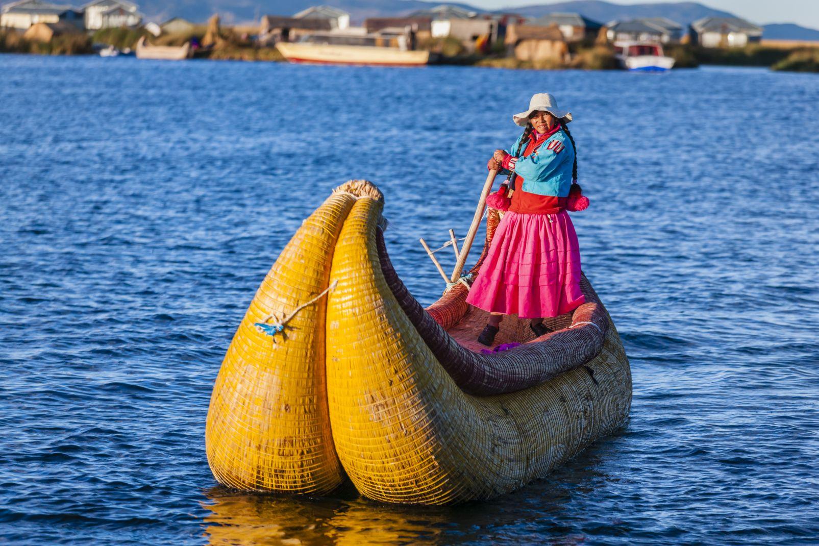 Aymara, Titicaca, Lac, Pérou, Amérique, sud, Totora